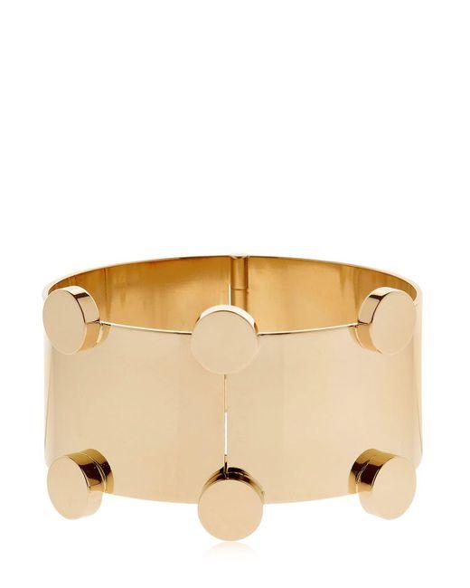 Isabel Marant   Metallic Manchette Gold Plated Bracelet   Lyst