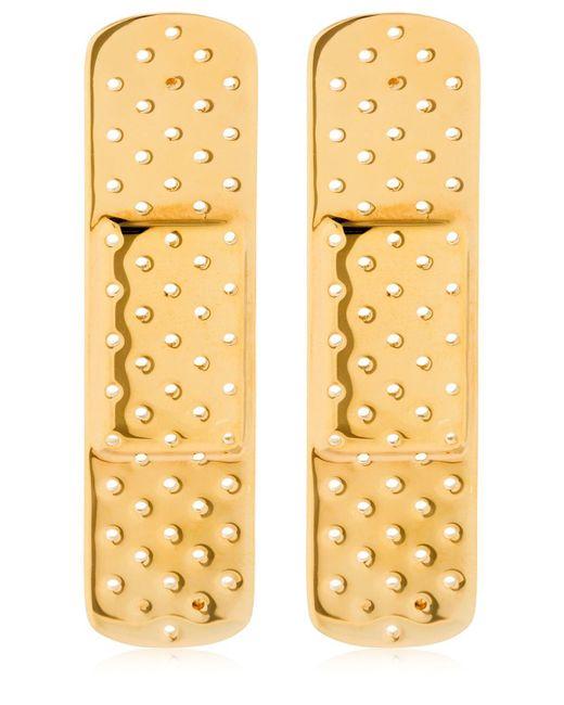 Schield - Metallic Plaster Line Earrings - Lyst