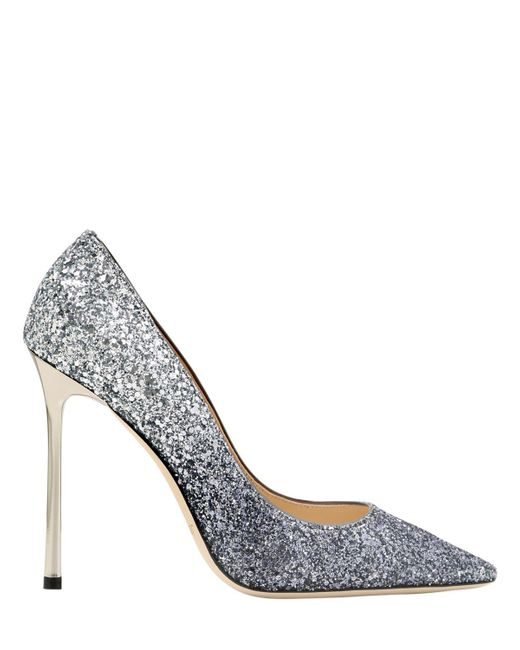 Jimmy Choo - Multicolor 110mm Romy Gradient Glittered Pumps - Lyst