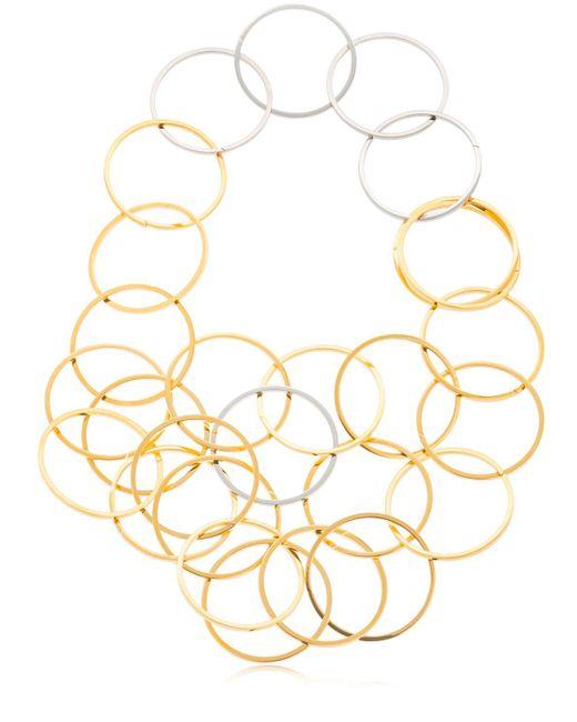 Vita Fede - Metallic Zaha Link Necklace - Lyst