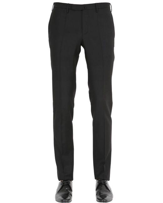 Incotex - Black 18cm Super 100s Wool Batavia Pants for Men - Lyst