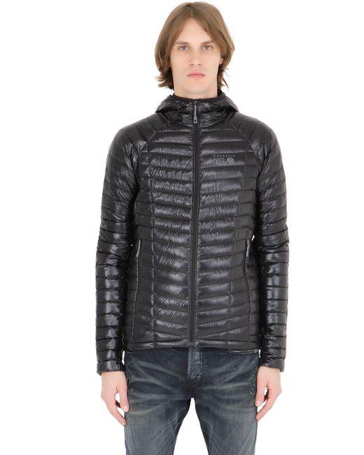 Mountain Hardwear | Black Ghost Whisperer Hooded Down Jacket for Men | Lyst