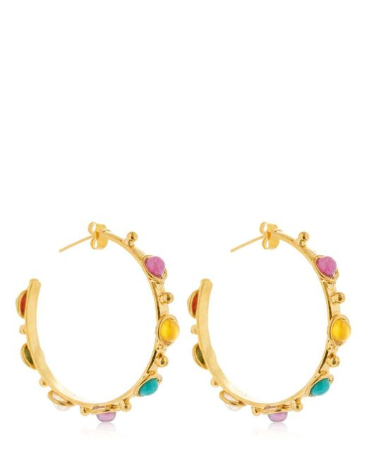 Sylvia Toledano - Metallic Petite Candies Hoop Earrings - Lyst