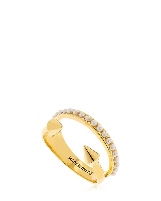 Vita Fede - Metallic Ultra Mini Titan Pearl Band Ring - Lyst