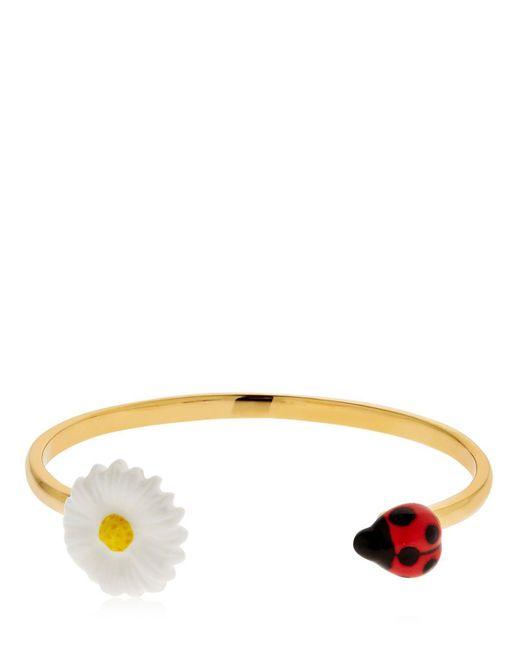 Nach - Multicolor Flower & Ladybug Bracelet - Lyst