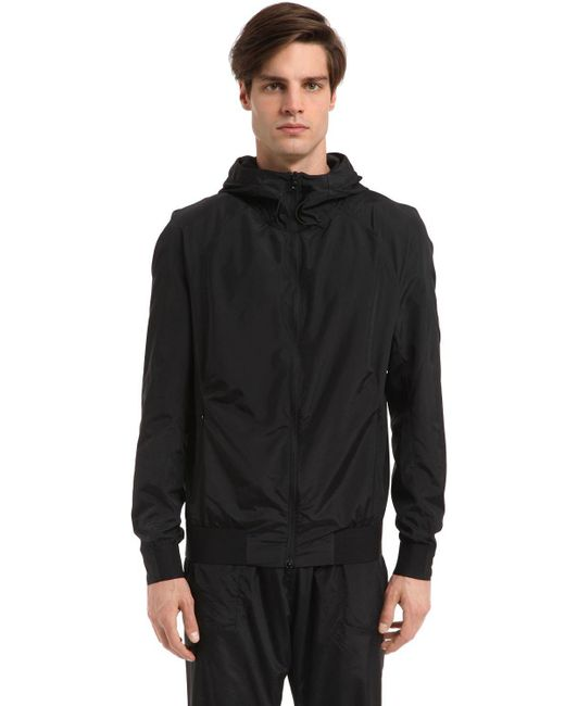 Peak Performance | Black Elevate Packable Hooded Jacket for Men | Lyst