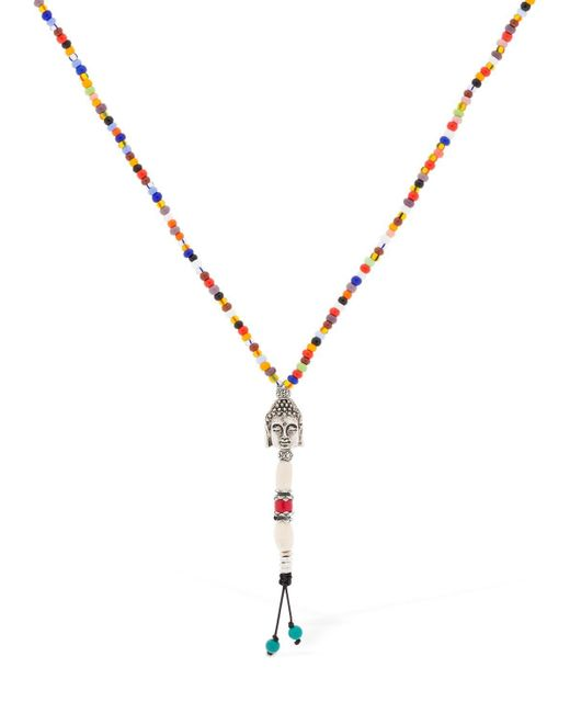 Cantini Mc Firenze - Metallic Buddha Cromo Necklace for Men - Lyst