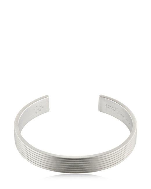 Le Gramme - Metallic Le 33 Matte Guilloche Lines Bracelet - Lyst