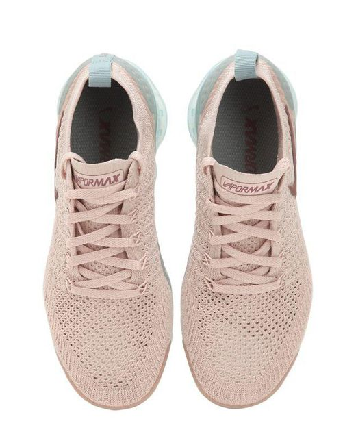096e0b84f427 Lyst - Nike Air Vapormax Flyknit 2 Sneakers in Pink - Save 41%