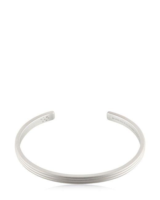 Le Gramme - Metallic Le 13 Matte Guilloche Lines Bracelet for Men - Lyst