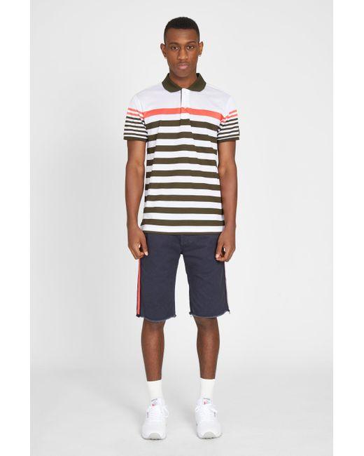 Paul & Shark - Multicolor Double Mercerized Polo Shirt for Men - Lyst