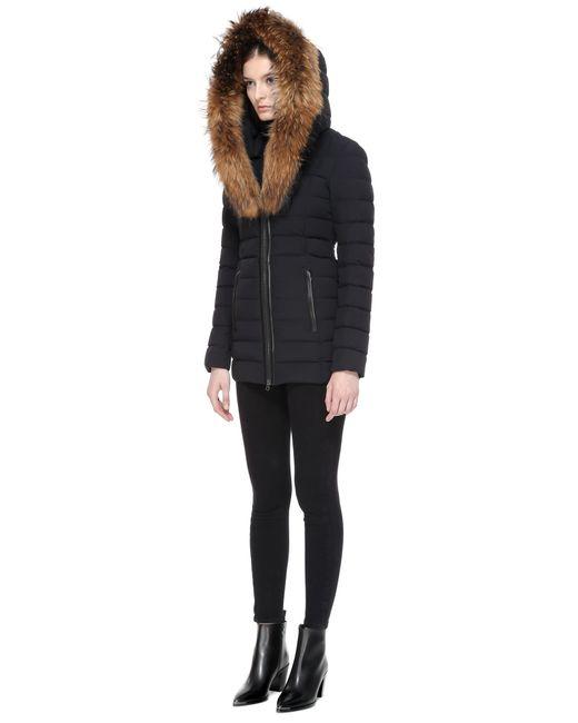 Mackage Kadalina Light Down Jacket With Fur Trimmed Collar