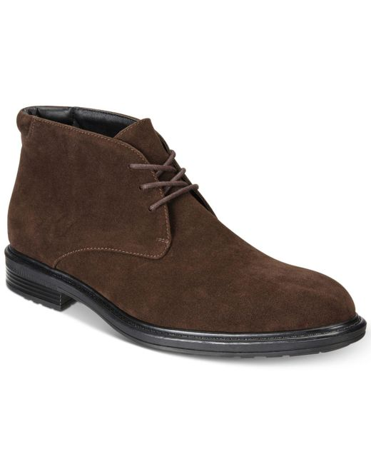 Alfani   Brown Men's Chukka Boots for Men   Lyst