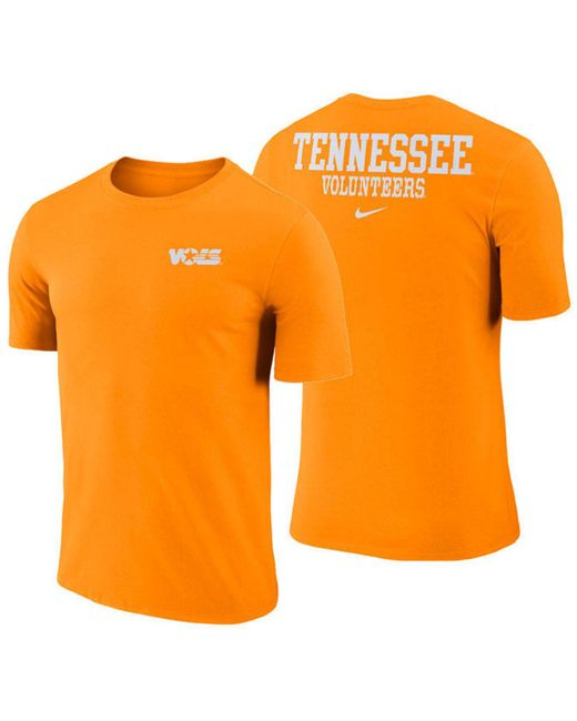 a2f76e485141 Nike - Orange Tennessee Volunteers Dri-fit Cotton Stadium T-shirt for Men  ...