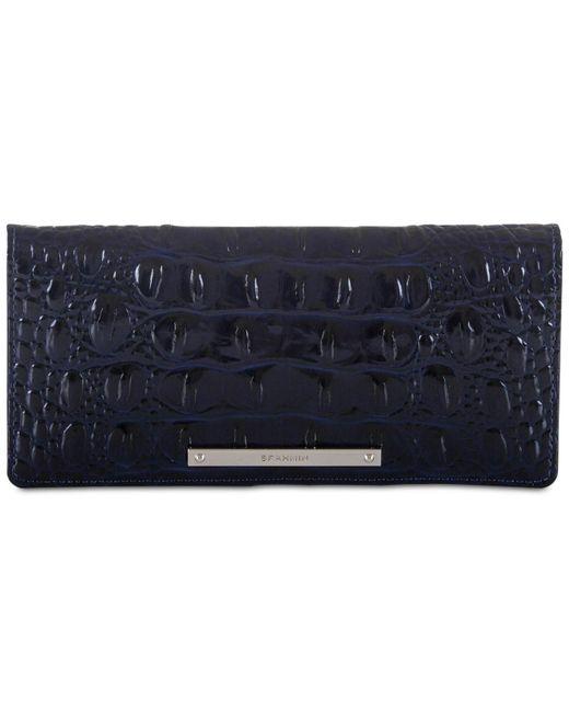 Brahmin - Blue Ady Wallet Melbourne - Lyst