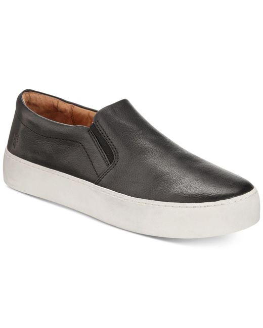 Frye - Black Women's Lena Slip-on Sneakers - Lyst