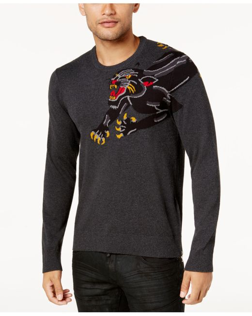 INC International Concepts | Gray Men's Panther Sweater for Men | Lyst