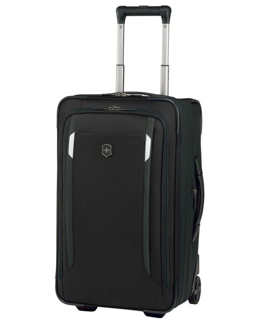 "Victorinox - Black Werks Traveler 5.0 22"" Carry-on Spinner Suitcase for Men - Lyst"