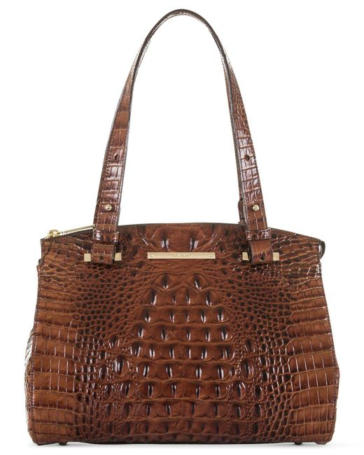 Brahmin | Brown Melbourne Small Alice Tote | Lyst