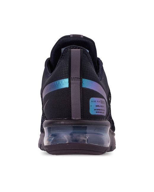 on sale 1148e 7729f ... Nike - Black Air Max Sequent 4 Shield Running Sneakers From Finish Line  for Men ...