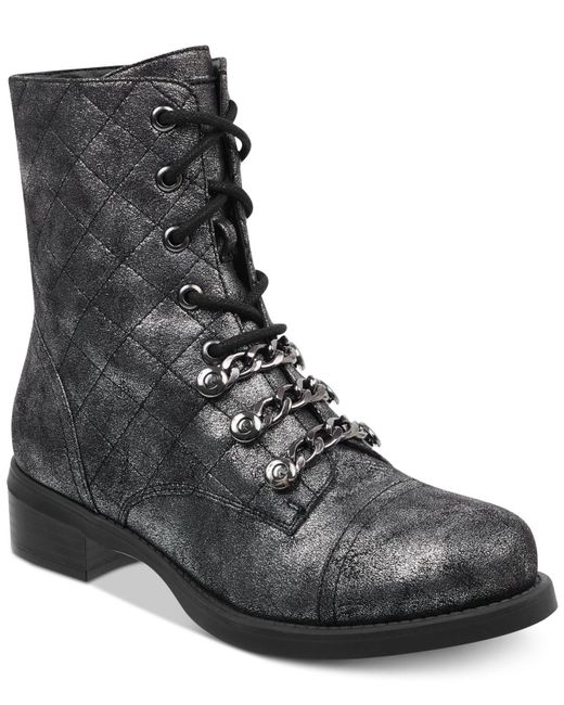 G by Guess - Multicolor Meera Combat Booties - Lyst
