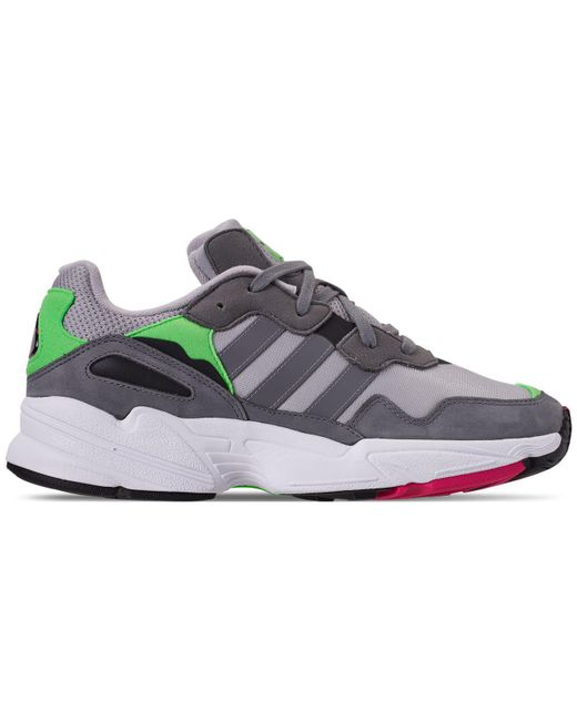 brand new 15a03 ad134 ... Adidas - Gray Yung-96 for Men - Lyst ...