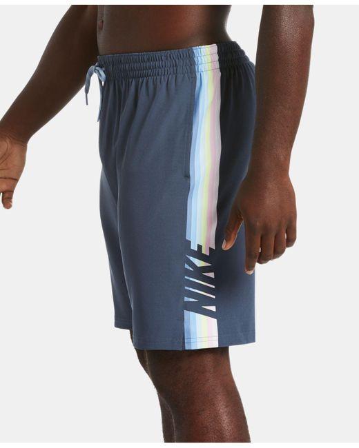 9ae59c8775 ... Nike - Blue Retro Stripe Stretch Water-repellent 9