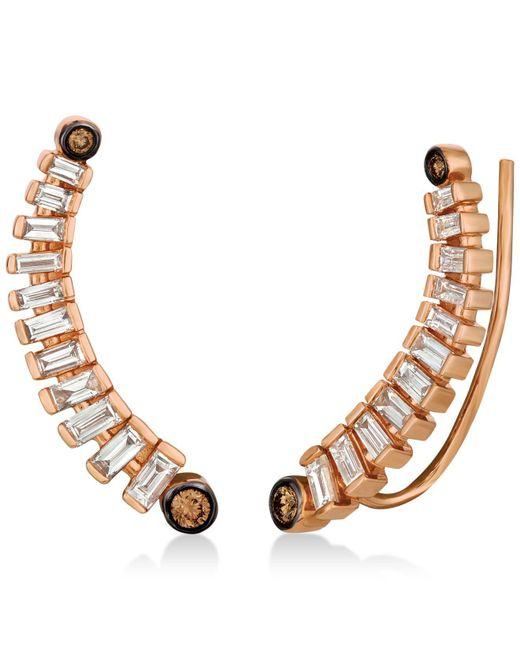 Le Vian - Metallic Diamond Ear Climbers (1/2 Ct. T.w.) In 14k Rose Gold - Lyst