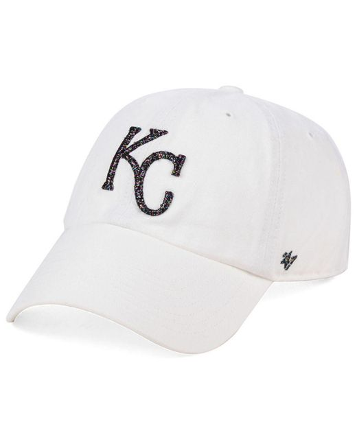 wholesale price wholesale price good service 47 Brand Cotton Kansas City Royals Galactic Clean Up Cap in White ...