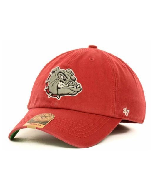 47 Brand | Red Gonzaga Bulldogs Ncaa '47 Franchise Cap for Men | Lyst