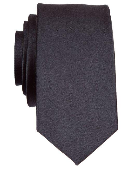 Original Penguin | Black Super Slim Solid Tie for Men | Lyst