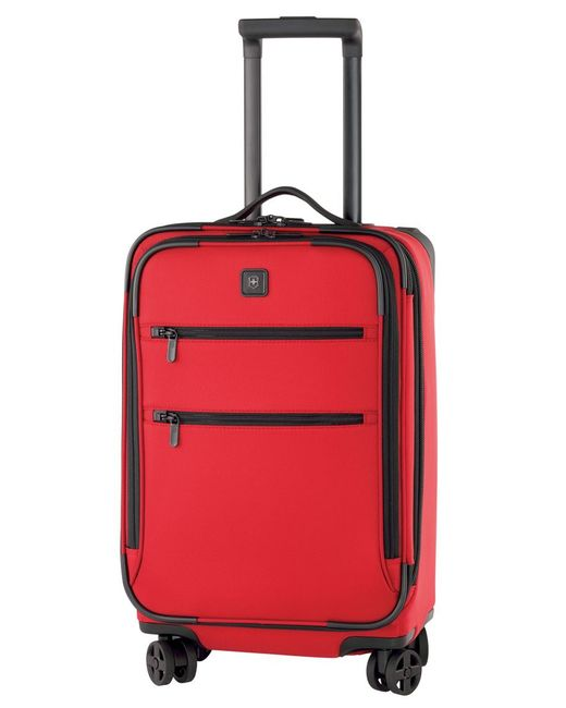 Victorinox   Red Victorinox Lexicon 22 Suitcase for Men   Lyst