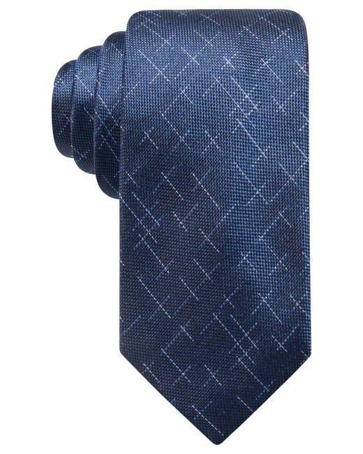 Alfani | Blue Men's Reed Dash Silk Tie, Created For Macy's for Men | Lyst