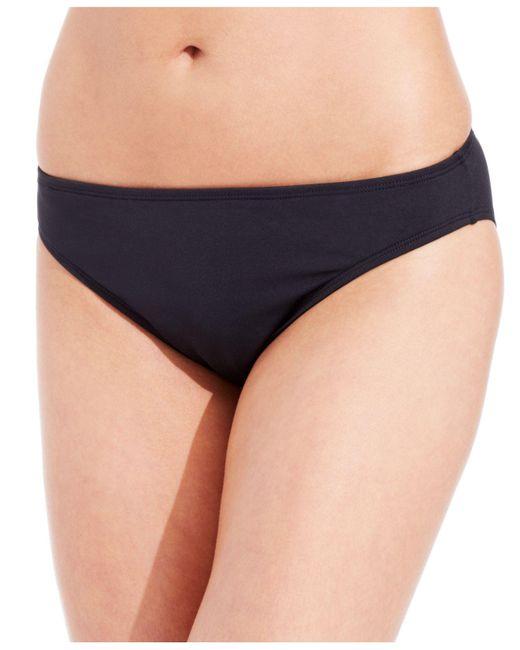 La Blanca | Black Classic Bikini Bottom | Lyst