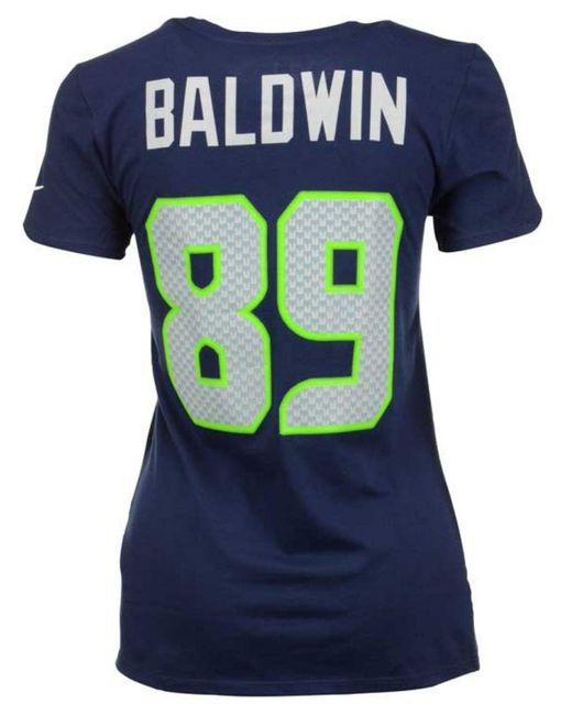 Nike | Blue Women's Doug Baldwin Seattle Seahawks Player Pride T-shirt | Lyst
