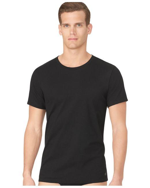 Calvin Klein | Black Men's Classic Crew-neck T-shirt 3-pack U4001 for Men | Lyst