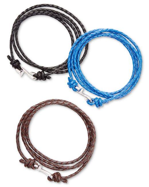 Mateo Bijoux | Blue Nail Wrap Bracelet for Men | Lyst