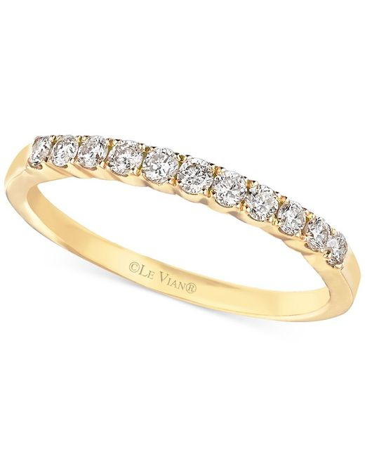 Le Vian | Yellow Diamond Wedding Band In 14k Gold (1/3 Ct. T.w.) | Lyst