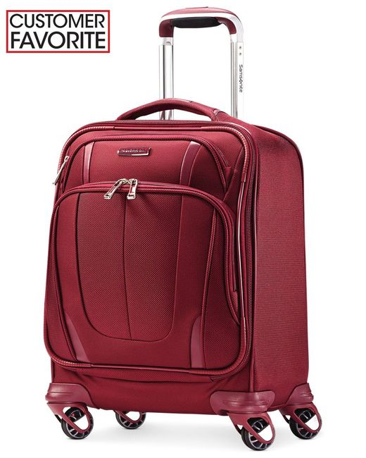 "Samsonite | Silhouette Sphere 2 17"" Spinner Boarding Bag, Available In Ruby Red, A Macy's Exclusive Color 