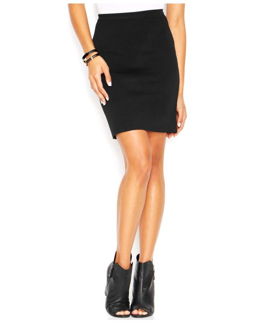 roy pencil skirt only at macy s in black lyst