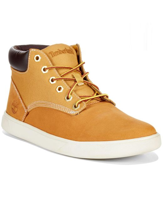 Timberland | Natural Earthkeepers Groveton Hi-top Sneakers for Men | Lyst