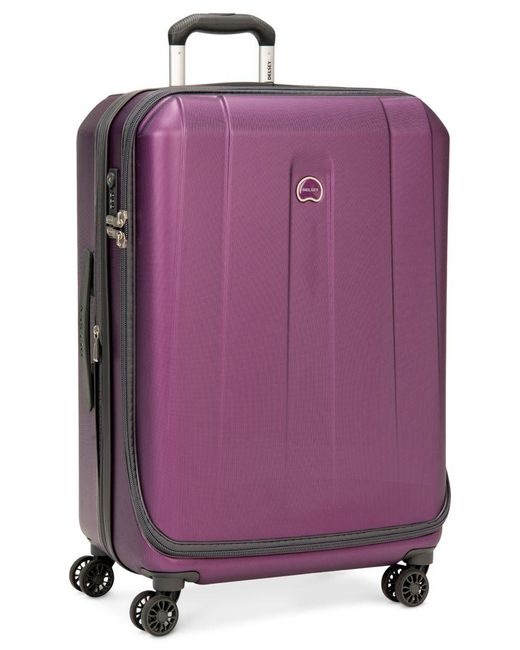 "Delsey | Purple Closeout! 60% Off Helium Shadow 3.0 25"" Expandable Hardside Spinner Suitcase, In Blue, A Macy's Exclusive Color for Men 