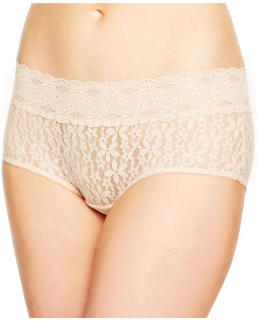 Wacoal | Natural Halo Lace Boyshort 870205 | Lyst