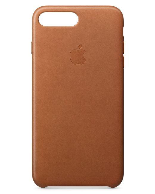 Apple - Brown Iphone 8 Plus/7 Plus Leather Case - Lyst