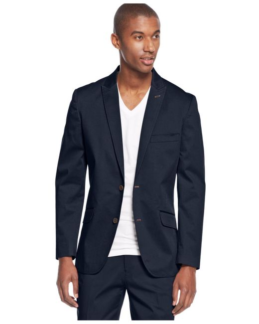 INC International Concepts | Blue Collins Slim-fit Blazer for Men | Lyst