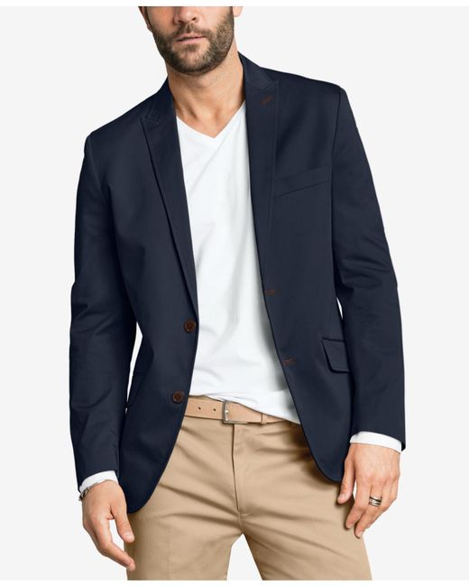 INC International Concepts | Blue Collins Slim-fit Blazer for Men | Lyst