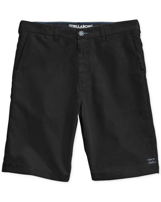 Billabong   Black Carter Hybrid Shorts for Men   Lyst