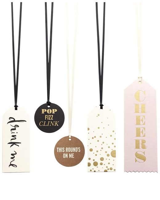 Kate Spade | Multicolor Assorted Wine Tag Set | Lyst