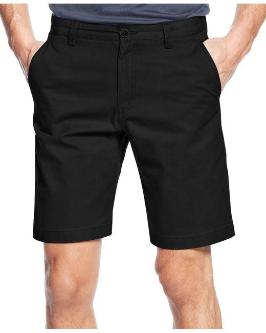 Cutter & Buck | Black Big And Tall Men's Beckett Flat Front Shorts for Men | Lyst