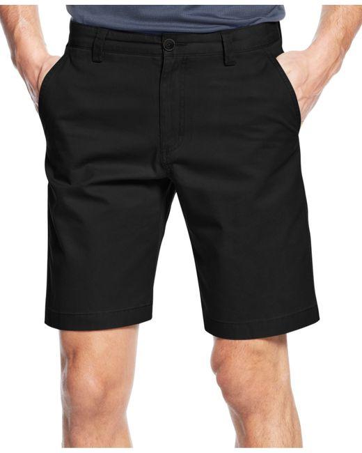 Cutter & Buck | Black Big And Tall Beckett Flat-front Shorts for Men | Lyst